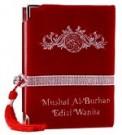 Al-Quran Wanita Al-burhan Bludru (Merah)