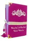 Al-Quran Wanita Al-burhan Bludru (Pink)