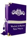 Al-Quran Wanita Al-burhan Bludru (Ungu)