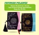 Al-Quran Wanita Alfatih Fatimah Pelangi Bludru
