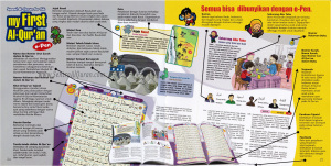 Syamil Quran For Kids My First Al-Quran (MYFA) E-Pen