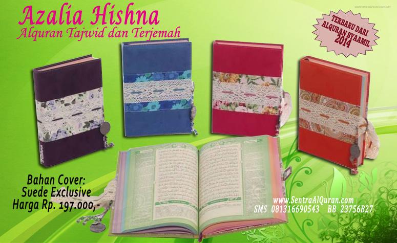 Syamil Quran Wanita Azalia Hishna