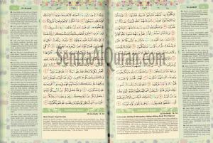 AlQuran Mutif Tajwid Rainbow
