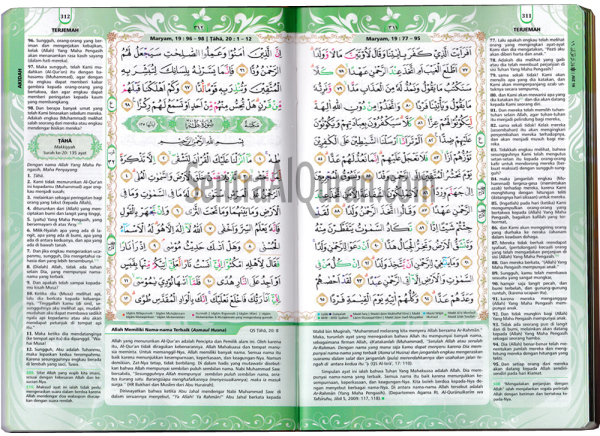 Bagian Dalam Quran Sofia