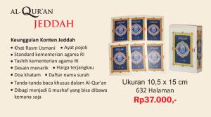 AlQuran Nur Jeddah Per 5 Juz