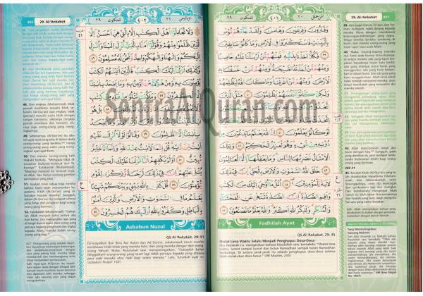 Syaamil Quran Terjemah Rainbow Azalia Hishna 2