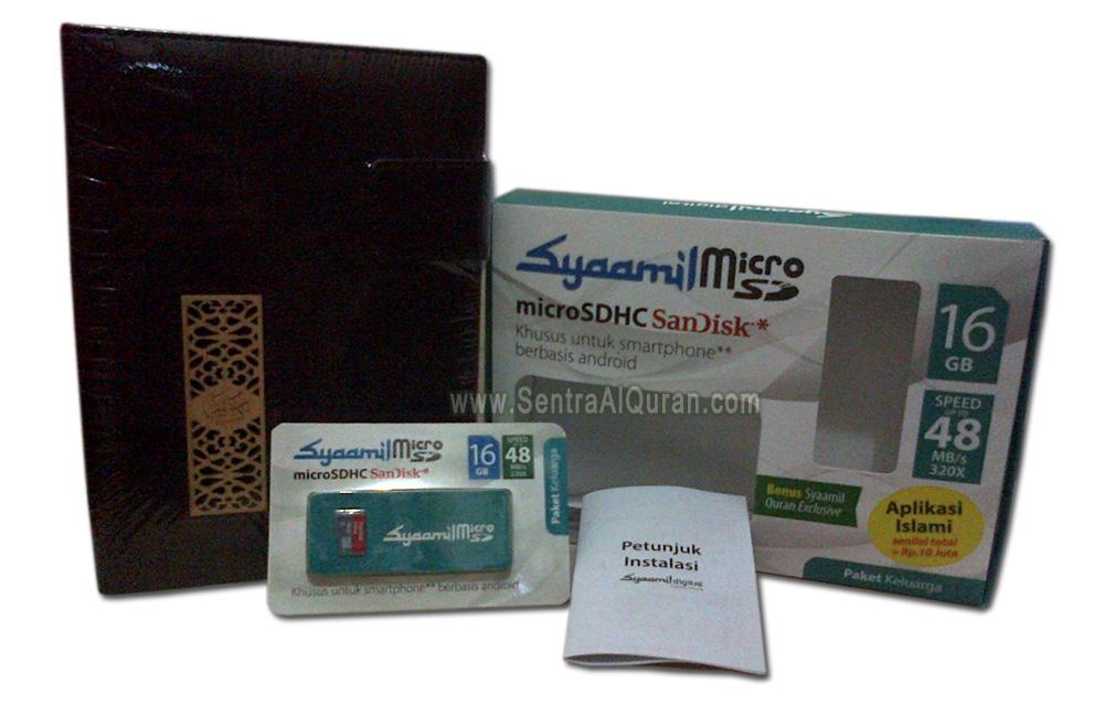 Isi paket Syaamil MicroSD Family Reference Bukhara