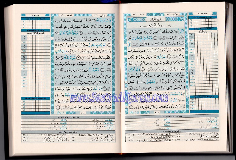 Halaman Dalam Quran Hafalan Tikrar