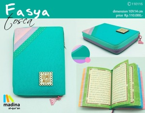 AlQuran Pelangi Cantik Madina Fasya Non Terjemah