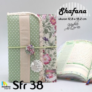 alquran cantik terjemah tajwid rainbow madina shafana SFR38