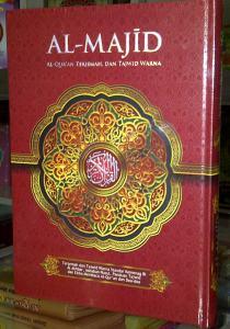 AlQur'an Terjemah Tajwid Al Majid A5