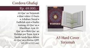Al-Qur'an Terjemah Cordova A5