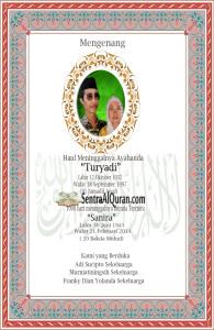 Desain Stiker Wakaf Bapak Turyadi