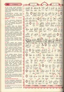 AlQur'an Terjemah Perkata Tajwid Al-Hanan Al Kalimah (A4)