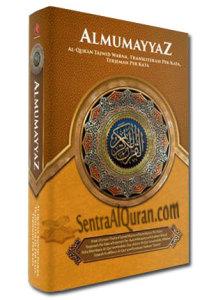 AlQur'an Tajwid Terjemah Perkata Latin Al-Mumayyaz A5