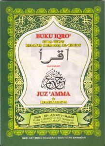 Buku IQRO' Plus Juz 'Amma HVS Sedang