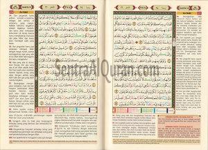 AlQur'an Terjemah Tajwid Warna Al-Mughni A4