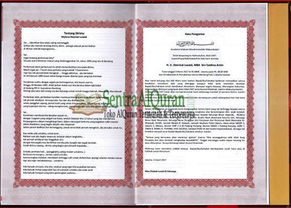 Al-Quran-Souvenir-40-hari-suami-meninngal-sisipan-kata-pengantar