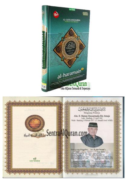 AlQuran Souvenir 100 Hari