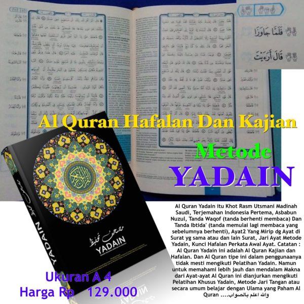 Alquran hafalan Yadain Qur'an hafalan terjemah