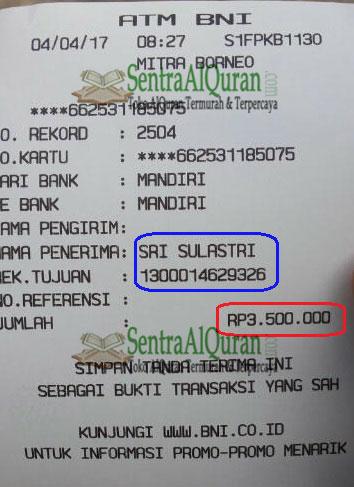 Penjualan-100-AlQur'an-Syaamil-Cordova-Terjemahan-Menuju-Pangkalan-Bun-Kal-Teng