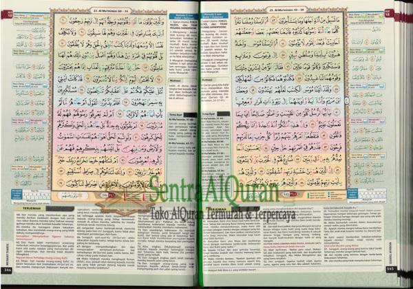 Isi AlQuran Hafalan Mushaf Tahfiz A5 Cordoba