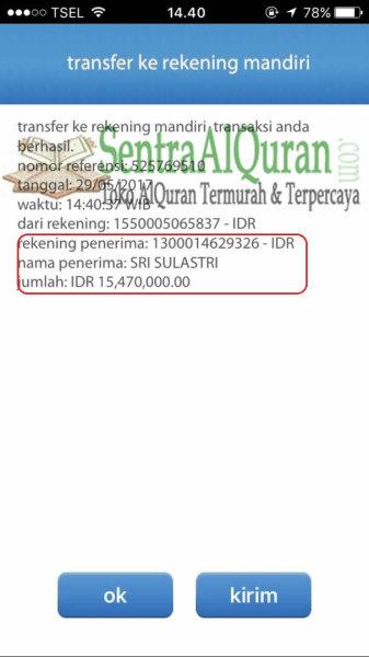 Bukti-Transfer-Pembayaran-500pcs-AlQuran-Non-Terjemah-Al-Bayan-A5