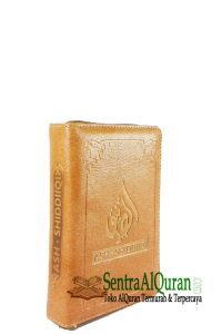 AlQur'an Cover Customize A6 Terjemah Tajwid