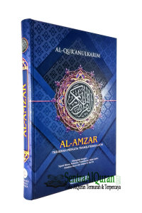 AlQuran Perkata Terjemah Tajwid Transliterasi Al-Amzar A4