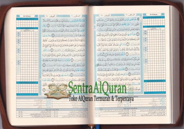 AlQur'an Hafalan Tikrar B6 Jaket Resleting