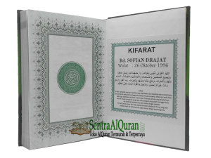 AlQur'an Wakaf Untuk Penebus Kifarat Almarhum
