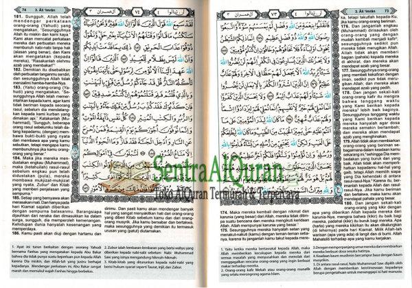 Isi AlQur'an Terjemahan Al-Azhar A5