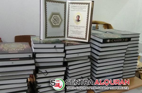 Pemesanan Al-Quran Souvenir 40 Hari Mengenang Wafat Al-Hamid 120 pcs