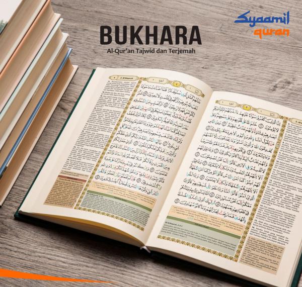 Al Quran Terjemah Tajwid Bukhara A6