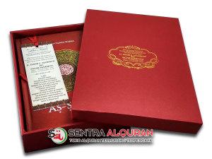 Grosir Al Quran Souvenir Pengajian 40 Harian Plus Box Khusus